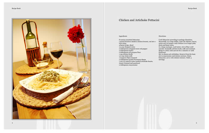 Recipe Book Design Template