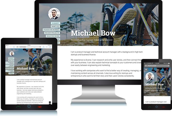 personal portfolio websites