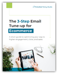3-Step Email Tune-up for Ecommerce